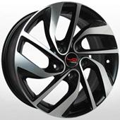 Автомобильный колесный диск R16 5*114,3 RN527 BKF (Renault) - W6.5 Et47 D66.1