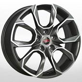 Автомобильный колесный диск R16 5*112 SK516 GMF (Skoda) - W6.5 Et50 D57.1