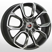 Автомобильный колесный диск R17 5*112 SK516 GMF (Skoda) - W7.0 Et40 D57.1