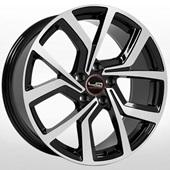Автомобильный колесный диск R19 5*112 SK524 BKF (Skoda, VW) - W7.5 Et45 D57.1