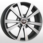 Автомобильный колесный диск R16 5*112 SK71 GMF (Skoda) - W6.5 Et46 D57.1
