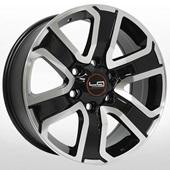 Автомобильный колесный диск R18 6*139,7 TY188 BKF (Toyota, Lexus) - W7.5 Et25 D106.1