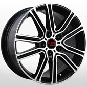 Автомобильный колесный диск R17 5*114,3 TY546 BKF (Toyota, Lexus) - W7.0 Et40 D60.1