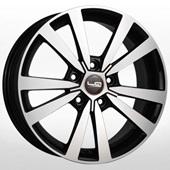 Автомобильный колесный диск R16 5*112 VV158 BKF (Volkswagen) - W6.5 Et46 D57.1