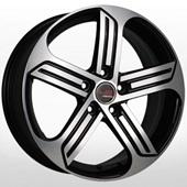 Автомобильный колесный диск R16 5*112 VV530 BKF (Volkswagen) - W6.5 Et33 D57.1