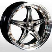 Автомобильный колесный диск R19 5*120 LG 173 MIHBD - W8.5 Et20 D74.1