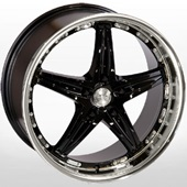 Автомобильный колесный диск R19 5*120 LG 173 XMIBK - W8.5 Et20 D74.1