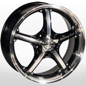 Автомобильный колесный диск R17 5*112 LG 255 FMBK - W7 Et40 D73.1