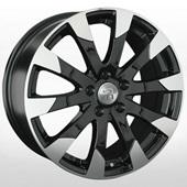 Автомобильный колесный диск R17 5*108 LR33 BKF (Land Rover) - W7.5 Et55 D63.4