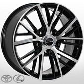 Автомобильный колесный диск R20 5*150 LX-3306 BMF (Lexus, Toyota) - W8.5 Et45 D110.2