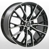 Автомобильный колесный диск R19 5*114,3 LX-3314 BP (Toyota, Lexus) - W9.0 Et32 D60.1