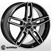 Автомобильный колесный диск R18 5*112 MB-3601 BP (Mercedes) - W8.0 Et43 D66.6