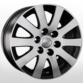 Автомобильный колесный диск R17 6*139,7 Mi20 BKF (Mitsubishi) - W7.5 Et46 D67.1