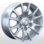 Автомобильный колесный диск R16 6*139,7 MI38 S (Mitsubishi) - W7.0 Et38 D67.1