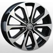 Автомобильный колесный диск R16 5*114,3 NS69 BKF (Nissan) - W6.5 Et40 D66.1
