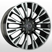 Автомобильный колесный диск R20 6*114,3 NS867 BKF (Nissan) - W8.0 Et35 D66.1