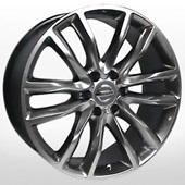 Автомобильный колесный диск R22 6*139,7 NS910 HPB (Nissan) - W9 Et35 D77.8