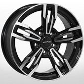Автомобильный колесный диск R16 5*118 RN-4507 BP (Renault, Opel, Nissan) - W7.0 Et40 D71.1