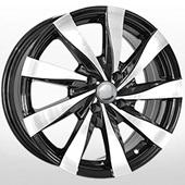 Автомобильный колесный диск R16 4*100 RN107 BKF (Renault) - W6.5 Et40 D60.1