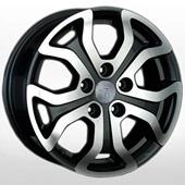 Автомобильный колесный диск R16 5*114,3 RN130 BKF (Renault) - W6.5 Et50 D66.1