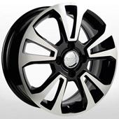 Автомобильный колесный диск R15 4*100 RN163 BKF (Renault) - W6.0 Et40 D60.1