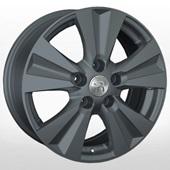 Автомобильный колесный диск R16 5*114,3 RN166 GM (Renault) - W6.5 Et50 D66.1