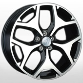 Автомобильный колесный диск R16 5*100 SB22 BKF (Subaru) - W6.5 Et48 D56.1