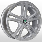 Автомобильный колесный диск R15 5*100 SK-5004 S (Skoda, VW) - W6 Et43 D57.1