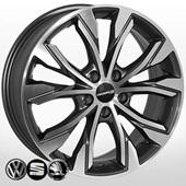 Автомобильный колесный диск R18 5*112 SK-5026 MK-P (Skoda, VW) - W7.0 Et40 D57.1