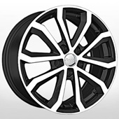 Автомобильный колесный диск R17 5*112 SK77 BKF (Skoda) - W7 Et49 D57.1