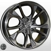 Автомобильный колесный диск R16 5*108 TRW-Z1010 DGMF (Citroen, Peugeot) - W6.5 Et32 D65.1
