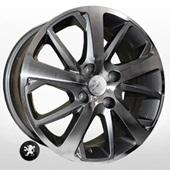 Автомобильный колесный диск R16 4*108 TRW-Z1039 DGMF (Citroen, Peugeot) - W6.5 Et31 D65.1