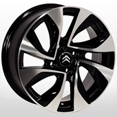 Автомобильный колесный диск R16 4*108 TRW-Z1177 BMF (Peugeot, Citroen) - W6.5 Et27 D65.1