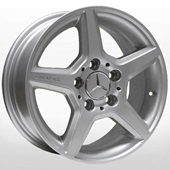 Автомобильный колесный диск R15 5*112 TRW-Z274 S (Mercedes) - W6.5 Et43 D66.6