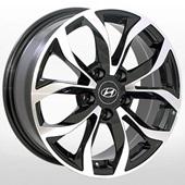Автомобильный колесный диск R16 5*114,3 TRW-Z459 BMF (Hyundai, Kia) - W6.5 Et35 D67.1