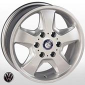 Автомобильный колесный диск R16 6*130 TRW-Z491 S (M-Benz, VW) - W7 Et50 D84.1
