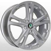 Автомобильный колесный диск R15 5*100 TRW-Z616 S (Skoda, VW) - W6 Et43 D57.1