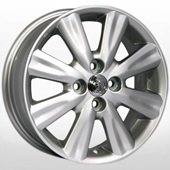 Автомобильный колесный диск R15 4*100 TY-5504 S (Toyota, Lexus) - W5.5 Et45 D54.1