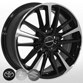 Автомобильный колесный диск R16 5*114,3 TY-5516 BP (Toyota, Suzuki) - W6.5 Et45 D60.1