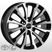Автомобильный колесный диск R20 6*139,7 TY-5526 BP (Toyota, Lexus) - W8.5 Et30 D106.2