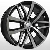 Автомобильный колесный диск R18 6*139,7 TY238 BKF (Toyota) - W7.5 Et30 D106.1