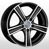 Автомобильный колесный диск R17 5*112 VV120 BKF (Volkswagen) - W7.0 Et43 D57.1