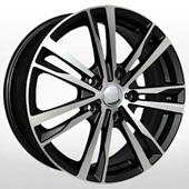 Автомобильный колесный диск R16 5*112 VV149 BKF (VW, Skoda) - W6.5 Et46 D57.1