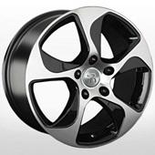 Автомобильный колесный диск R18 5*130 VV186 BKF (Volkswagen) - W8.0 Et53 D71.6