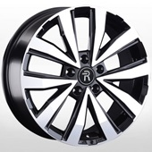 Автомобильный колесный диск R18 5*120 VV202 BKF (VW, Skoda) - W7.5 Et45 D65.1