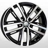 Автомобильный колесный диск R18 5*112 VV227 BKF (VW, Skoda) - W7.0 Et43 D57.1
