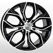 Автомобильный колесный диск R18 5*120 VV245 BKF (Volkswagen) - W8.0 Et50 D65.1