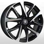 Автомобильный колесный диск R17 5*112 VV247 BKF (VW, Skoda) - W7.0 Et40 D57.1