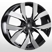 Автомобильный колесный диск R20 5*112 VV258 BKF (VW, Skoda) - W9.0 Et33 D66.6