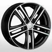 Автомобильный колесный диск R17 5*112 VV44 BKF (Volkswagen) - W7.5 Et47 D57.1